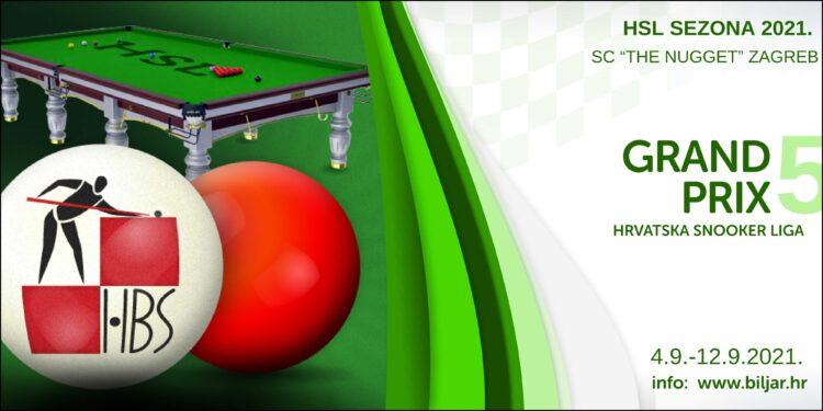 Plakati HBS snooker GP5